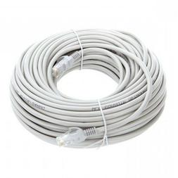 100FT Cat6 PoE IP Camera NVR Ethernet Cable Outdoor/Indoor R
