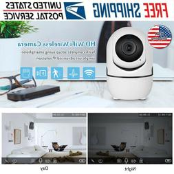 1080P HD WiFi IP Camera In/Outdoor Home Security Monitor Nig