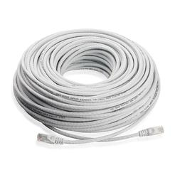 100FT Cat5E PoE IP Camera NVR Ethernet Cable Outdoor/Indoor