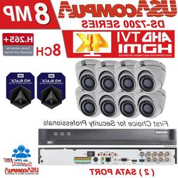 Hikvision 16 Channel 8 Camera SECURITY SYSTEM 5MP 4TB HDD IR