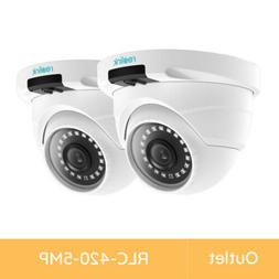 Reolink 2 Pack Refurbished 5MP Super HD Outdoor PoE Security