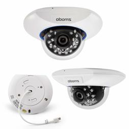 2 x Zmodo 720p sPoE Dome IP Camera ZM-SS76D001-S Male MicroU