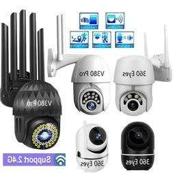 2MP Wireless Wifi IP Camera 1080P PTZ Outdoor Dome Security
