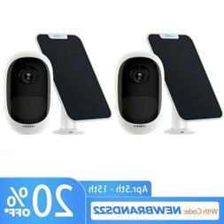 2x Wireless WiFi IP Camera HD 1080P Rechargeable Reolink Arg