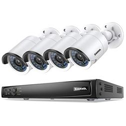 ANNKE 4CH Full 1080P Power Over Ethernet Security Camera Sys
