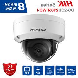 Hikvision IP Camera 8MP H.265+ DS-2CD2185FWD-I Indoor/Outdoo
