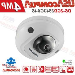 Hikvision 4MP POE IP CAMERA DS-2CD2543G0-IS Built-in Mic  AU