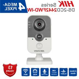 Hikvision IP Camera 4MP Wifi DS-2CD2442FWD-IW 4mm Two-way Au