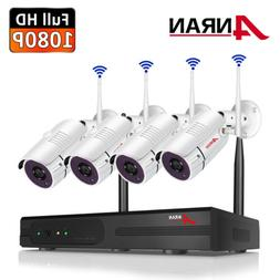 8CH HD 1080P Wireless IP Camera Smart Security System Outdoo