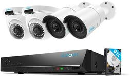8CH Video Surveillance System 1440P IP Cameras Security Syst