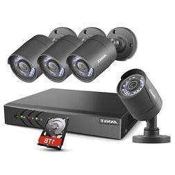 ANNKE 8 Channel Security Camera System 5-in-1 H.264+ DVR wit