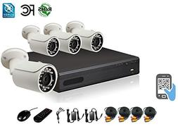 HDView 9CH Tribrid: 8 Channel DVR + 1 Channel NVR, 2.4MP 108