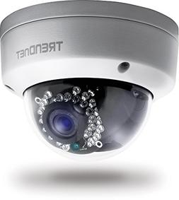 TRENDnet Indoor/Outdoor Dome Style, PoE IP Camera with 3 Meg
