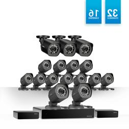 Zmodo 1.0 MP 32CH Network NVR 16 IP HDMI Security Camera Sys