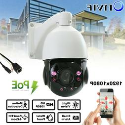 Build-in POE HD 1080p PTZ Outdoor Speed Dome IP Pan 30X Zoom