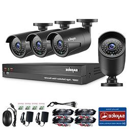 Home Security Camera System,SANNCE 8CH 1080P Video Security