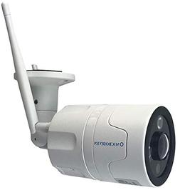 Microseven 1080P HD WiFi Outdoor Camera, Alexa, Two-Way Audi