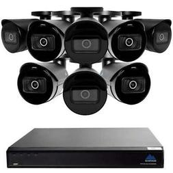 Montavue 16 Channel Commercial Security System w/ 8 4MP IP B