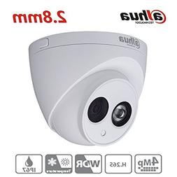 Dahua 4MP HD Security Camera, IPC-HDW4433C-A 2.8mm, Network