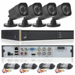DID 4CH 1080N DVR Home CCTV Security Camera System 720P IP65