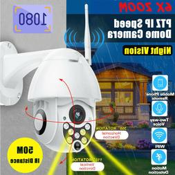 HD 1080p PTZ Outdoor Speed Dome IP Pan Tilt  355° IR Networ