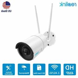 4MP 1440P Security IP Camera Wireless 2.4/5G WiFi Outdoor Au