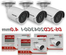 Hikvision IP Camera DS-2CD2043G0-I 4.0mm 4MP PoE Outdoor Bul
