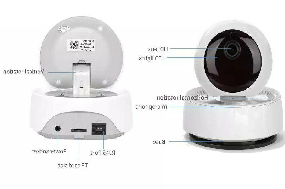 1080P Baby Pet IP Camera Day PTZ Two-Way Audio