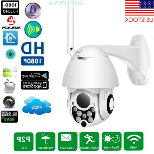 1080P HD PTZ Outdoor Speed Dome IP Pan Tilt 4X Zoom IR Netwo