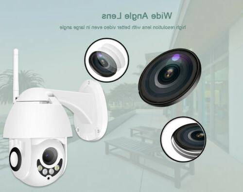 1080P WHITE HD Home Security Cam Record