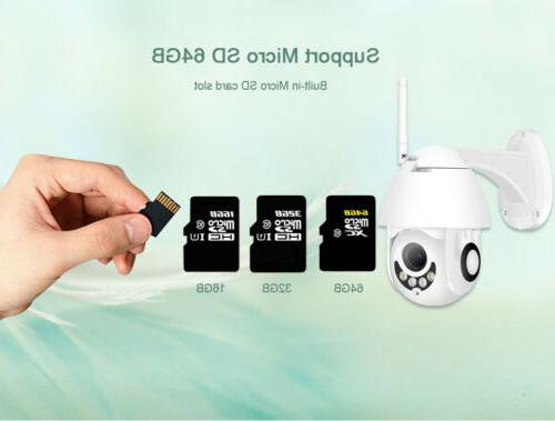 1080P WIFI IP WHITE Wireless HD Home Security Cam Record