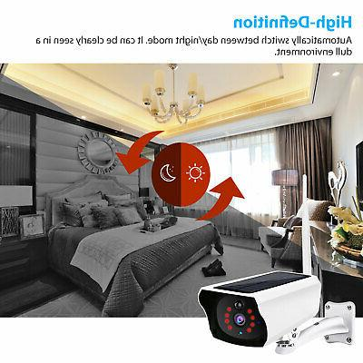 1080P Outdoor Wireless Solar Powered WiFi Security Vision Cam
