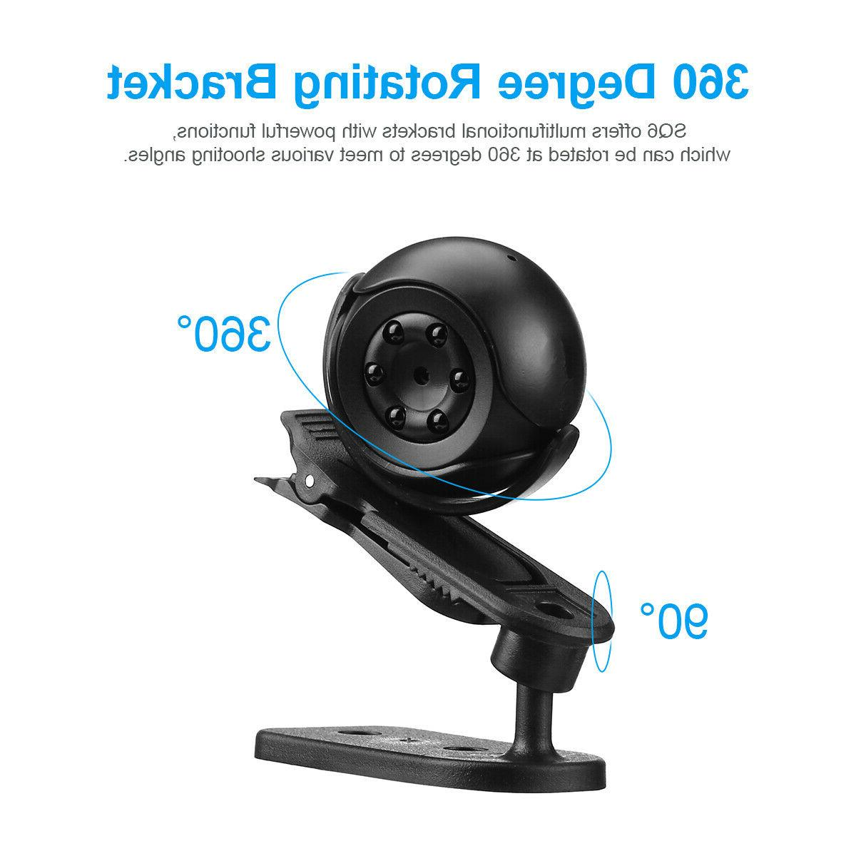 360° Mini 1080P Camera Camcorder Vision