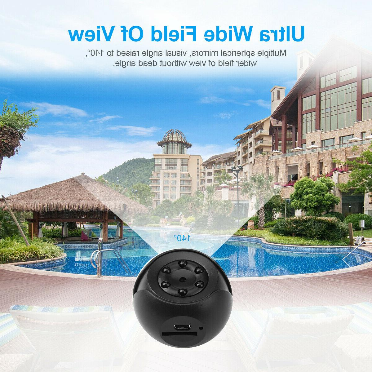 360° Mini 1080P Camera Camcorder