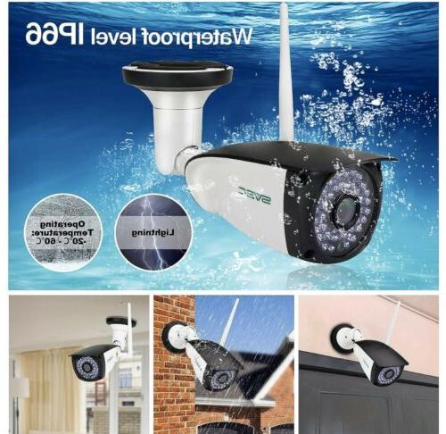 New Pack WiFi Outdoor HD Two Security Cameras