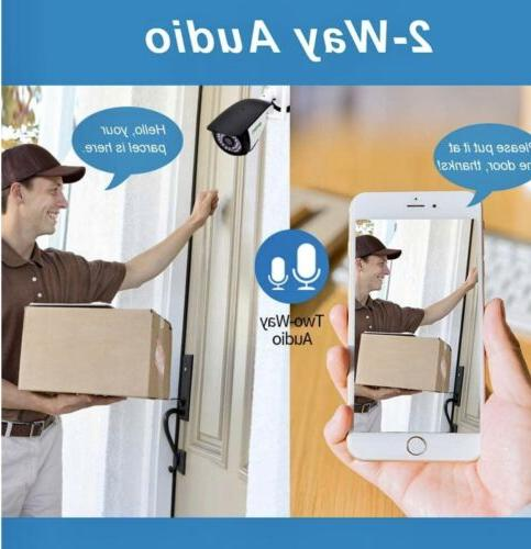 New 2 Outdoor Camera SV3C 1080P HD Two Way Security