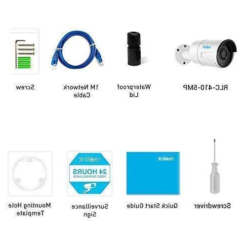 Reolink Pack) Outdoor/Indoor Night Motion Detection Audio Slot