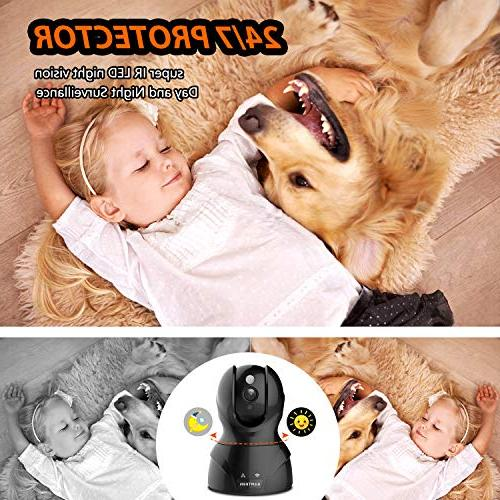 Security WiFi Camera Home with Audio Motion Detection