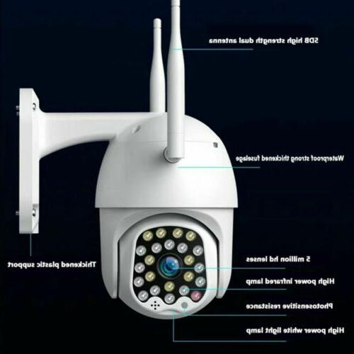 Wireless 1080P Outdoor Vision CCTV Monitoring