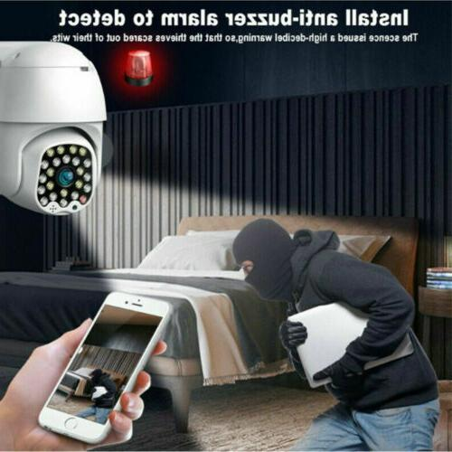 Wireless 1080P Security Outdoor Night Vision Zoom
