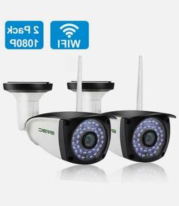 new 2 pack wifi outdoor camera 1080p