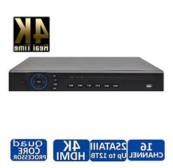 Dahua NVR4216-4KS2 16 Channel Security Network Video Recorde
