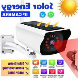 Outdoor 1080P Solar Powered Security Energy Camera Wireless