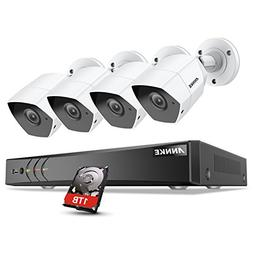 ANNKE 3MP Security Camera System 8CH TVI/CVI/AHD/IP/CVBS 5-i