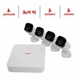 Ultra Hd 4 Ch. 1Tb Nvr Surveillance System With 4 4 Megapixe