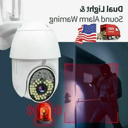 US HD 1080P PTZ Security WIFI Camera Waterproof Outdoor Wire