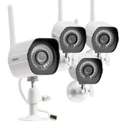 Zmodo WiFi HD 1080p Surveillance IP Camera *4 Pack* Home and