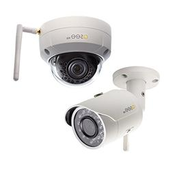 Q-see 3MP Wireless Bullet & Dome Security Camera Combo Pack