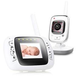 """2.3"""" lcd digital wireless baby monitor home security ip came"""